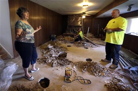 Drought Damaged Homes
