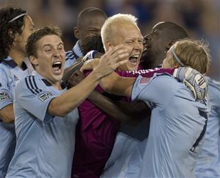 Jimmy Nielsen, Matt Besler, Chance Myers