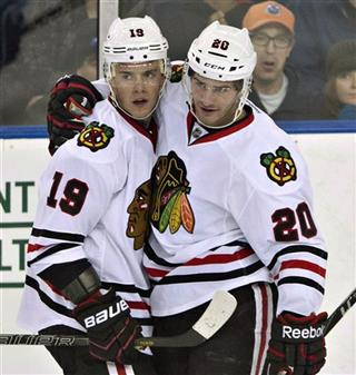 Jonathan Toews, Brandon Saad