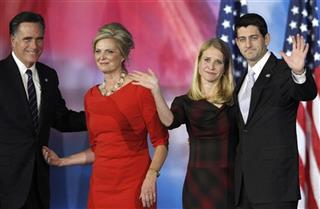 Mitt Romney, Ann Romney, Paul Ryan, Janna Ryan