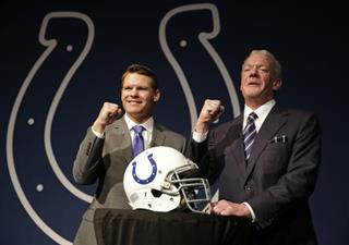 Chris Ballard, Jim Irsay