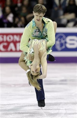 Viktoria Kavaliova and Yurii Bieliaiev