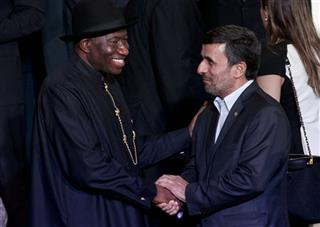 Mahmoud Ahmadinejad ,  Goodluck Ebele Jonathan,