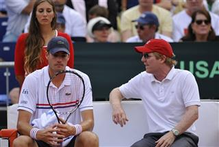 David Ferrer, John Isner, Jim Courier