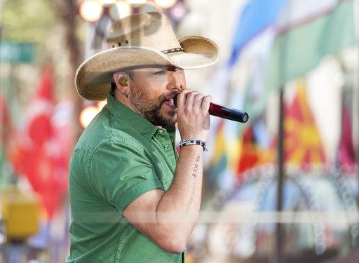Jason Aldean Performs on NBC's Today Show