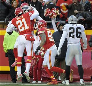 Derrick Johnson, Sean Smith, Ron Parker
