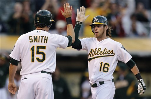 Seth Smith, Josh Reddick