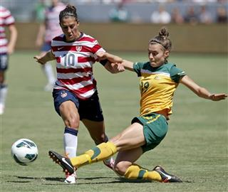 Carli Lloyd, Stephanie Catley