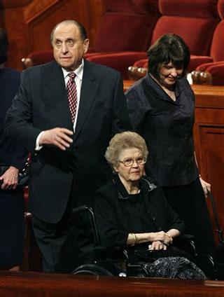 Frances Monson, Thomas Monson, Ann Dibb