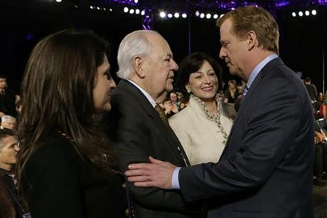Roger Goodell, Tom Benson