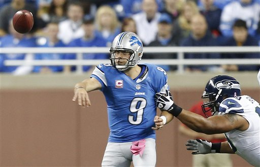 Matthew Stafford, Alan Branch