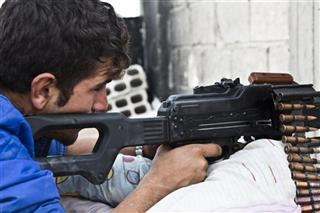 Mideast Syria Displaced By Kurds