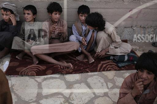 Yemen Houthi Child Soldiers