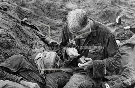 Associated Press International News Vietnam VIETNAM WAR U.S. MEDIC COLE PELL