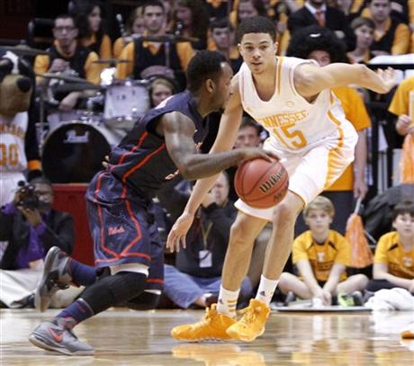 Mississippi Tennessee Basketball