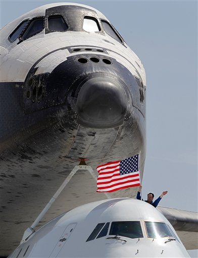 Space Shuttle, Endeavour, J.J. Johnston