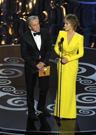 Jane Fonda, Michael Douglas