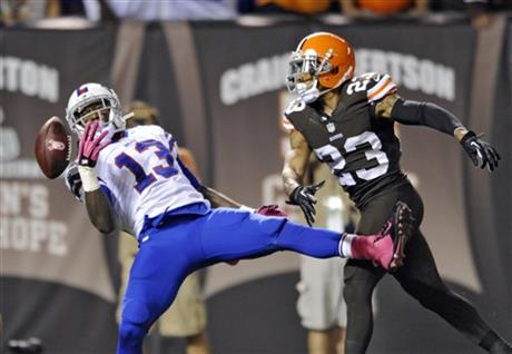 Stevie Johnson, Joe Haden