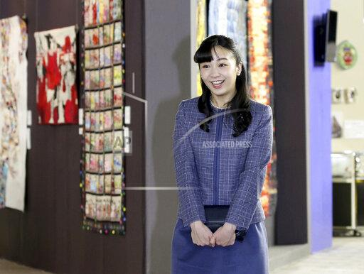 Japan's Princess Kako visits Quilt Festival