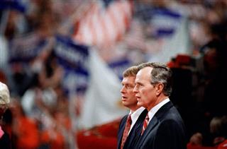 Dan Quayle, George H.W. Bush
