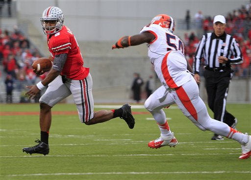 Braxton Miller, Justin Staples