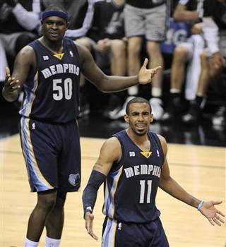 Mike Conley, Zach Randolph