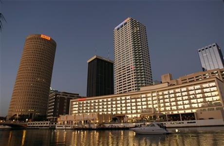 Tampa, Fla. Skyline