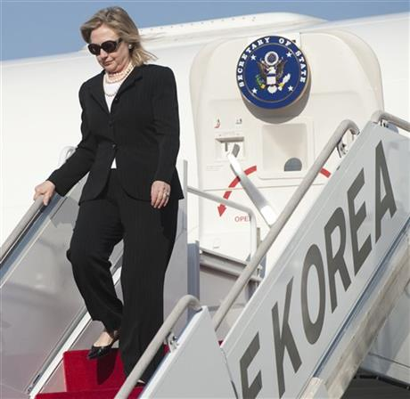 Clinton On The Road