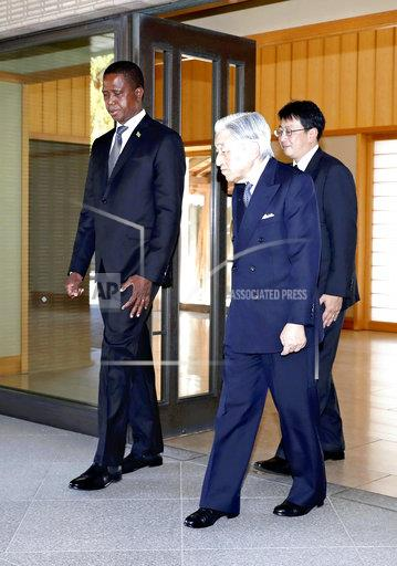 President of Zambia Edgar Lungu visits Imperial Palace