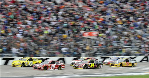 Jimmie Johnson, Matt Kenseth, Ryan Newman, Jeff Gordon