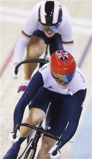 Victoria Pendleton, Kristina Vogel