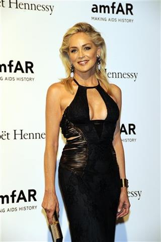 Italy Fashion Sharon Stone