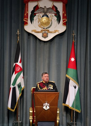 APTOPIX Mideast Jordan  Parliament