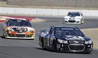 Jamie McMurray, Tomy Drissi, Dale Earnhardt Jr.