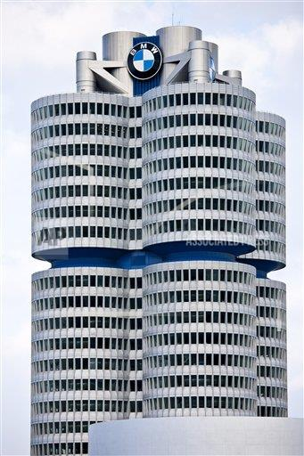 Creative Robert Harding Productions /AP Images A  Bavaria Germany 1161-5753 Modern architecture at the BMW Headquarters office blocks in Munich, Bavaria, Germany