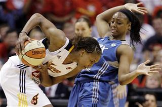 Tamika Catchings,  Monica Wright