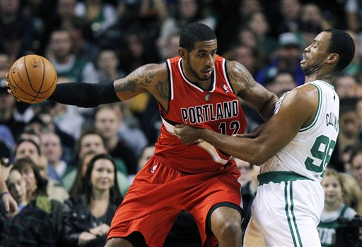 LaMarcus Aldridge, Jason Collins