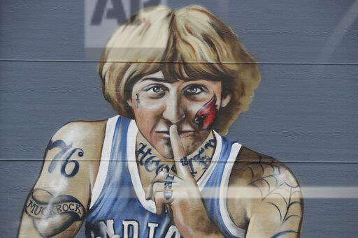 Larry Bird Mural Basketball