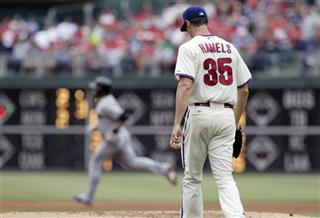 Cole Hamels Mike Aviles