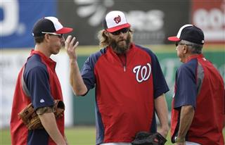 Jayson Werth, Adam LaRoche, Davey Johnson