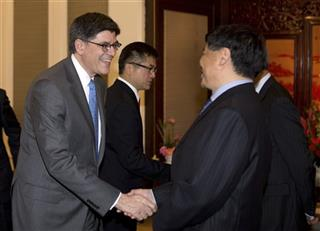 Jacob Lew, Gary Locke