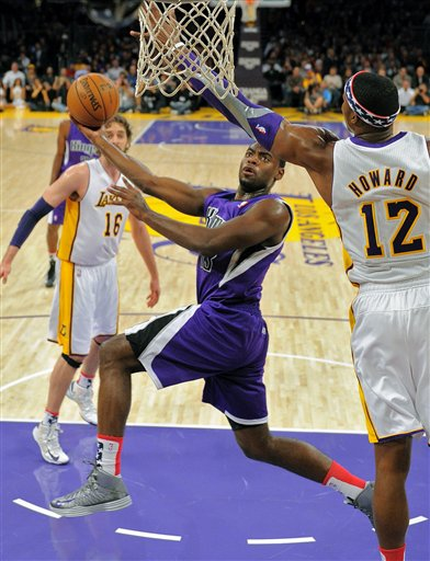 Tyreke Evans, Dwight Howard, Pau Gasol