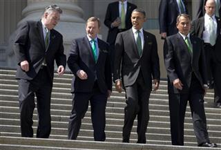 John Boehner, Barack Obama, Enda Kenny
