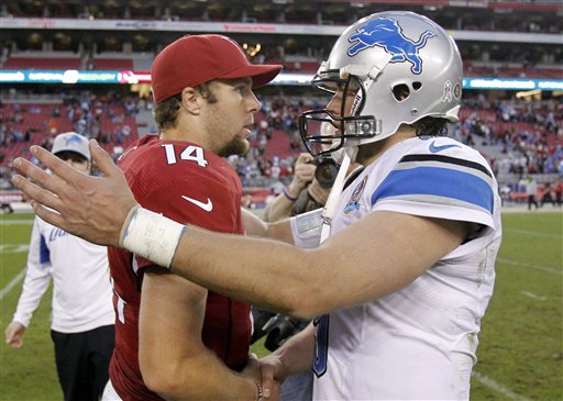 Matthew Stafford, Ryan Lindley