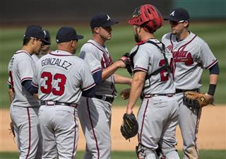 Paul Maholm, Ramiro Pena, Fredi Gonzalez, Evan Gattis, Chris Johnson