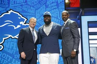 A'Shawn Robinson, Roger Goodell, Herman Moore
