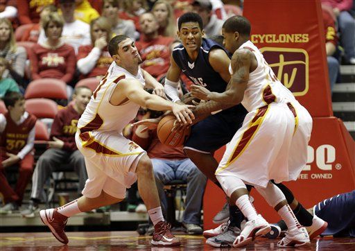 Georges Niang, Korie Lucious, Armani Cotton