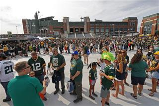 Lambeau Field Football Fans