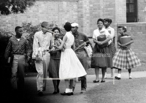 Watchf Associated Press Domestic News  Arkansas United States APHS68326 Little Rock School Desegregation 1957