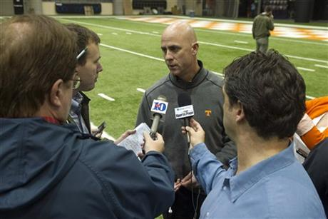Tennessee Assistant Coaches Football